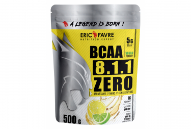 Boisson Eric Favre Bcaa 8.1.1 Zero Vegan 500g Citron