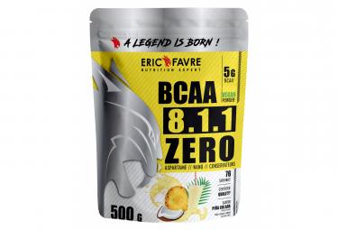 Boisson Eric Favre Bcaa 8.1.1 Zero Vegan 500g Pina Colada