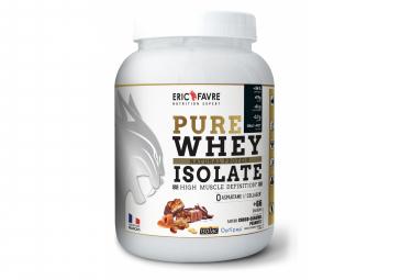 Boisson protéinée Eric Favre Pure Whey Isolate 2kg Choco-Caramel