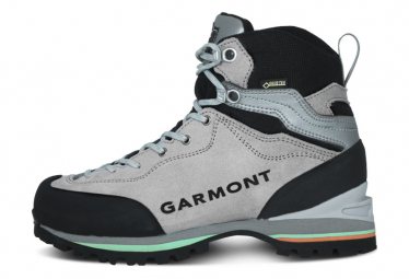 Zapatillas De Senderismo Para Mujer Garmont Ascent Gtx Gris Verde 39 1 2