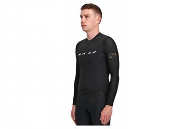 MAAP Evade Pro Base Long Sleeve Jersey Black