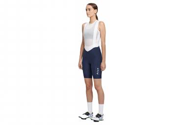 Pantalon Corto Mujer Maap Team Bib Evo Azul   Blanco S
