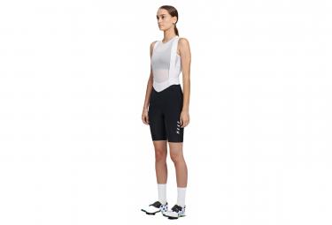 Pantalon Corto Mujer Maap Team Bib Evo Negro   Blanco S