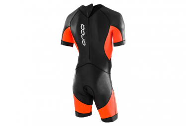 Orca OpenWater Core SwimSkin Neoprene Wetsuit Black / Orange