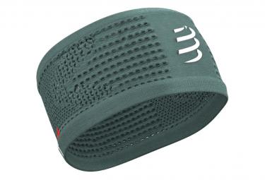 Bandeau Compressport Headband On/Off Vert Unisex