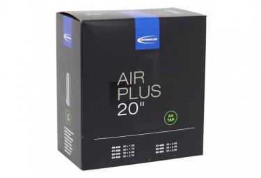 Schwalbe Air Plus 20 '' AV7 Valve Shrader 40mm Inner Tube