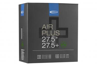 Camara Schwalbe Air Plus 27 5 Plus Av21   Valvula Shrader De 40 Mm 2 10   2 75