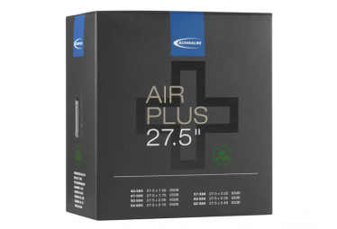 Chambre à Air Schwalbe Air Plus 27.5'' AV21 Valve Shrader 40mm