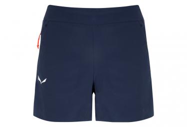 Pantalon Corto Azul Mujer Salewa Lavaredo Durastretch L