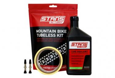 Stan's NoTubes - Tubeless Kit, Mtb, 27mm Tape, 44mm Valve