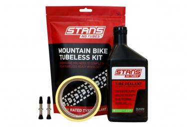 Stan's NoTubes - Tubeless Kit, Mtb, 21mm Tape, 44mm Valve