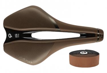 Prologo Dimension Tirox Saddle + Natural Color Bar Tape Brown