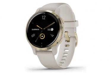 Reloj GPS Garmin Venu 2S Dorado / Beige
