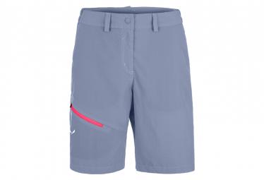 Pantalon Corto Mujer Salewa Isea Dry Gris S