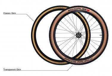 Schwalbe Pro One 700mm Tubetype Soft LiteSkin V-Guard Addix Race Road Cubierta marrón