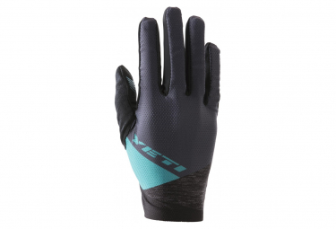 Guantes Largos Yeti Enduro Navy Abstract Gris   Azul L