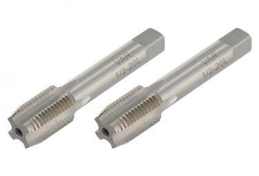 VAR Set of 2 Crank Taps 1/2''x20 tpi