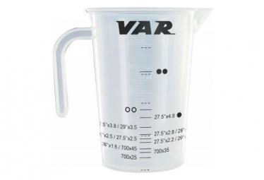 VAR Beaker Graduated for Tyre Sealant