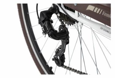 VTC Homme 28'' Venice guidon plat blanc TC 53 cm KS Cycling