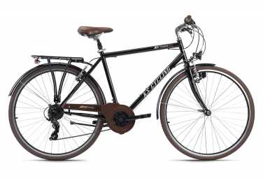 VTC Homme 28'' Venice guidon plat noir TC 53 cm KS Cycling
