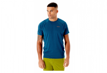 Rab Mantle Tee Camiseta Azul L
