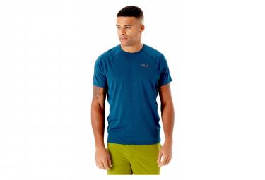 Camiseta De Manga Corta Rab Mantle Azul M
