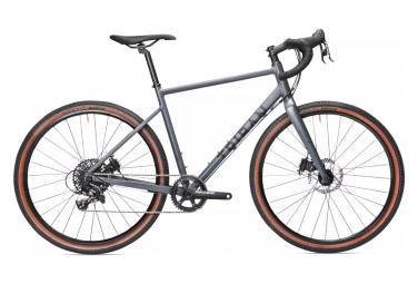 Triban GRVL 520 Gravel Bike Sram Apex 11S 650b Grey Abyss 2021