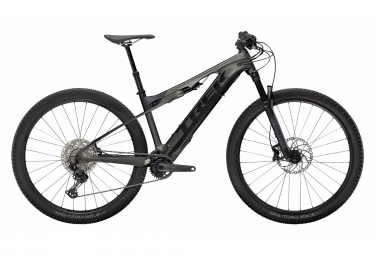 VTT Electrique Tout-Suspendu Trek E-Caliber 29'' Shimano Deore 12V Satin Lithium Grey/Trek Black 2021
