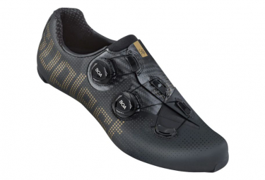Chaussures Route Suplest Edge+ Road Pro Cancellara Noir / Or