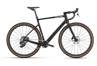 Gravel Bike Cervelo Aspero 5 Sram Force eTap AXS 12V Fünf Schwarz 2021