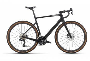 Bicicleta Gravel Cervelo Aspero 5 Shimano Grx 815 Di2 11v Five Black 2021 54 Cm   170 180 Cm