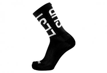 Chaussettes Suplest Logo Noir / Blanc