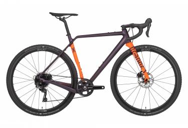 Gravel Bike Rondo RUUT X Shimano GRX 11V Orange/Aubergine 2021