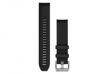 GARMIN QUICKFIT 22 WATCH STRAP black silicone