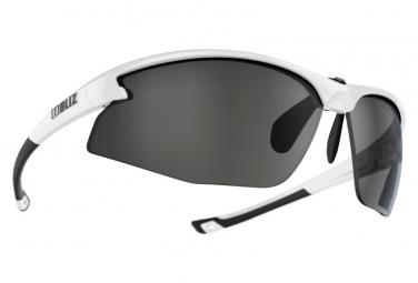 Bliz Motion + Fusion Lens Smoke Sonnenbrille Silber / Weiß