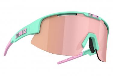Bliz Matrix Hydro Lens Sonnenbrille Matt Mint / Pink