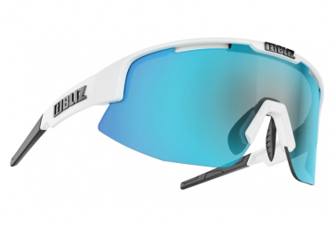 Bliz Matrix Hydro Lens Sonnenbrille Smoke White / Blue