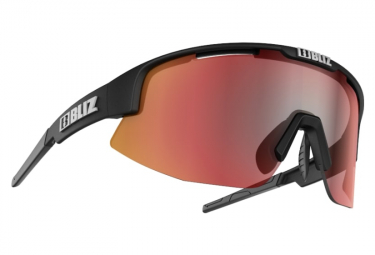 Bliz Matrix Hydro Lens Sonnenbrille Schwarz / Rot
