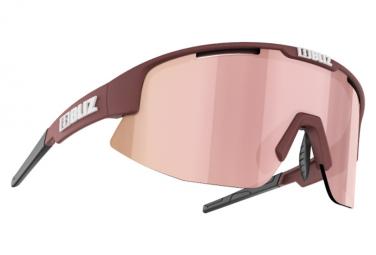 Bliz Matrix Small Hydro Lens Sunglasses Red / Pink