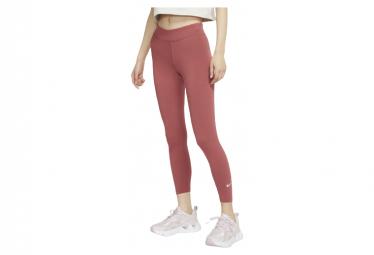 Leggings Rojos Nike Sportwear Essential Para Mujer L