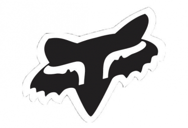 Fox Fox Head 4'' Black