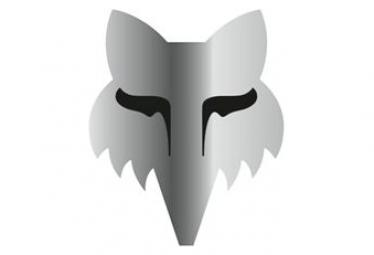 Adesivi Fox Racing Shox Fox Legacy 7.5cm Argento