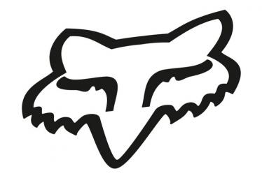 Decalcomanie Fox Racing Shox Black Fox Head
