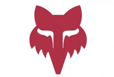 Fox Racing Shox Fox Legacy Head 7,5 cm Rosso Adesivi