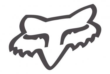 Fox Fox Head 4'' Grey