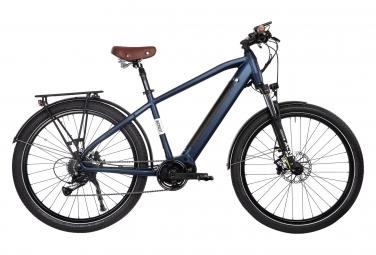 Bicyklet Raymond Bicicleta Eléctrica Urbana Shimano Acera 9S 504 Wh 27.5'' Matt Night Blue 2021