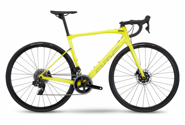 Bicicleta de carretera BMC Roadmachine Four Sram Rival eTap AXS 12S 700 mm Amarillo 2022