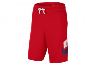 Short Nike Sportswear Alumni Rouge