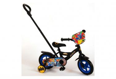 Vélo Disney Batman 10 pouces avec canne parentale