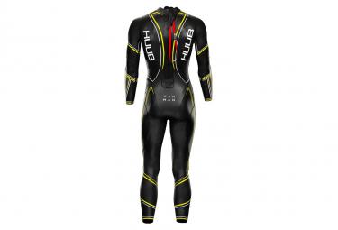 Huub Varman Fluo 3.5 Neoprene Suit Black / Yellow + Fluo Transition Bag